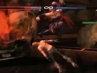 Balance Test Footage - Tina vs. Ayane de Dead or Alive 5