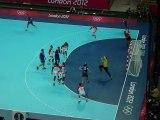 Arrêt Maggaiez + Arrêt Alilovic - Croatie-Tunisie / Handball JO 2012