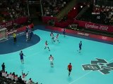 Arrêt Maggaiez - Croatie-Tunisie / Handball JO2012