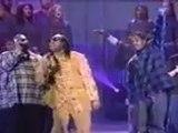 "Coolio, LV & Stevie Wonder ""Gangsta's Paradise"" Live @ Billboard Music Awards, Nassau Coliseum, New-York City, NY, 12-06-1995"