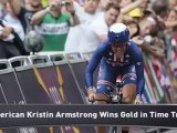 USA's Armstrong Wins Gold, Breaks Record