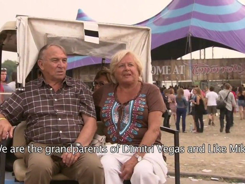 Grands-parents à Tomorrowland pour voir Dimitri Vegas et Like Mike