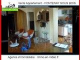 Achat Vente Appartement FONTENAY SOUS BOIS 94120 - 72 m2