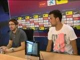 Deportes / Fútbol; Barça, Busquets declaró que el ganar al Real Madrid daría confianza al equipo