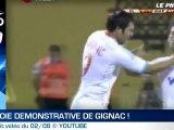 Zap Info : la joie démonstrative de Gignac !