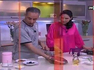 Choumicha Abdelkader Secteur - Soupes aux crevettes et légume Tajine poulet aux pruneaux
