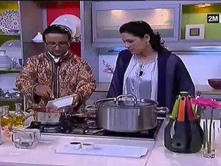 choumicha redouane abidat rma epaule agneau au four et seffa recette ramadan 2012