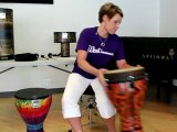 Remo Not So Loud Drums Demo - Remo Djembes, Remo ...