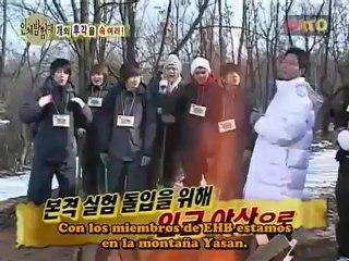 Explorando el cuerpo humano con Super Junior 13-3 sub esp