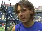ROGERS MASTERS TENNIS TORONTO - NADAL FINAL INTERVIEW