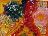 Peintures réalisées en art-thérapie