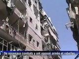 Syrie: bombardements et combats dans plusieurs quartiers d'Alep