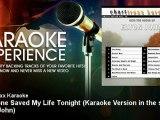 Charttraxx Karaoke - Someone Saved My Life Tonight - Karaoke Version in the style of Elton John