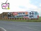 JA Fête de l'agriculture - pose banderole