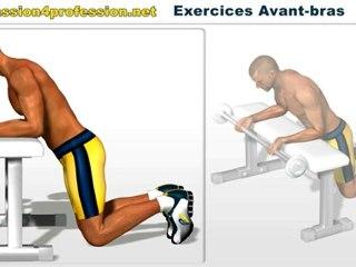 Musculation avant-bras  Flexion poignets avec barre sur Orange Vidéos dc006c88845