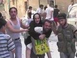 Alep: bombardements sur le quartier Boustan al-Qasr