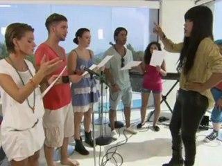 Loreen at German TV show POPSTARS on August 2