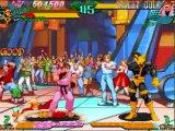 Marvel Super Heroes vs. Street Fighter Cyclops/Sakura Playthrough
