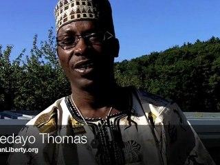 Spreading ideas of liberty in Africa : Adedayo Thomas