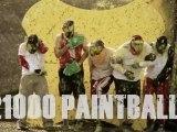 5 mecs se font tirer dessus par 21000 paintballs