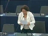 Strasbourg - 12 septembre 2011 | Intervention de Malika Benarab-Attou en session plénière au sujet de Frontex
