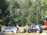 Head on Crash , Dieppe Fire & Codiac RCMP on scene