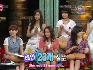 SNSD Win Win part 1