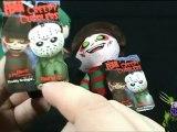 Spooky Spot - Mezco Cinema of Fear Creepy Cuddlers Jason Voorhees and Freddy Krueger