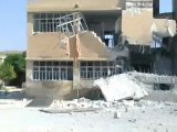 Syria فري برس حلب تل رفعت  اثار الدمار الذي خلفه القصف على المدينة 9_8_2012