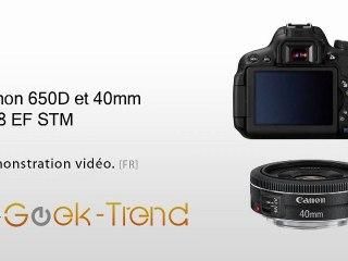 Test Canon EOS 650D
