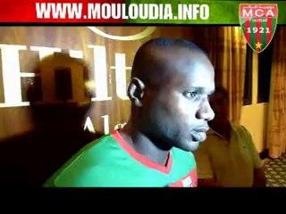 Déclarations de Mbele à la presse