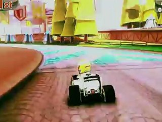 F1 Race Stars Gamescom 2012 Gameplay