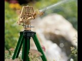 Orbit lawn sprinklers-Orbit Lawn Watering Impact Sprinkler on Tripod Base