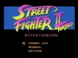 Classic Game Room - STREET FIGHTER 2 TURBO on SNES