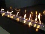 Cheminée bio ethanol, foyer ethanol A-FIRE, un nouveau concept de bruleur ethanol