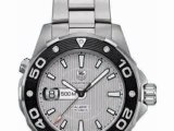 TAG Heuer Men's WAJ2111.BA0870 Aquaracer 500 M Mens Automatic Watch Unboxing