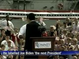 Romney introduces Paul Ryan as 'the next President'