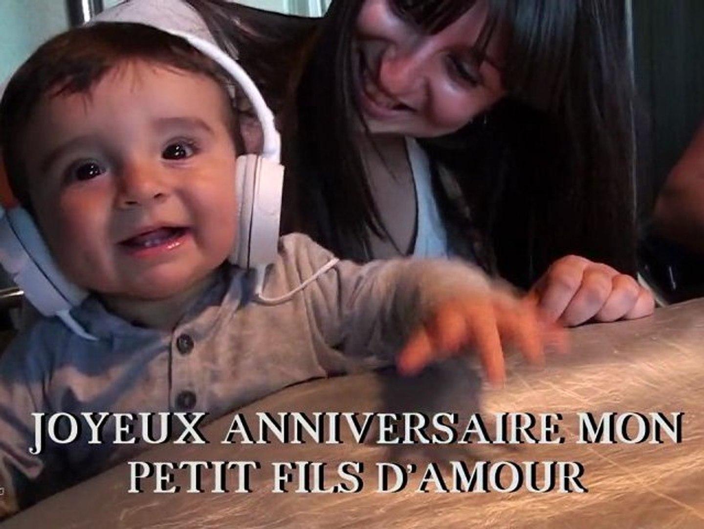 Joyeux Anniversaire Mon Petit Fils Damour