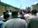 Syria فري برس درعا إنخل مظاهرة رغم الحصار تضامنا مع المدن المنكوبة 12 8 2012
