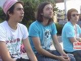 Interview de Naives New Beaters et Oxmo Puccino  lors du Focus Festival.