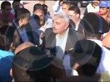مدير امن الإسكندرية يشهد إزالة التداعيات على شواطئ الإسكندرية