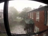 Severe Weather - INSANE Apocolyptic hail storm!!! - Lakewood Dallas, TX June 13, 2012