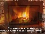 Estufas y Chimeneas precio Sirvent en Alicante Alcoy, Alcoi Cocentaina, Ontinyent, Onteniente, Bonalba, Jijona, Ibi, Petrer, Elche, Elda