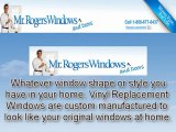 Vinyl Replacement Windows - Replacement With The Same Size As Your Original Window