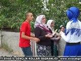 AK Parti Sivas İl Gençlik Kolları Sivas'ı Karış Karış Geziyor