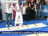 JO: les athlètes français médaillés fêtés sur les Champs-Elysées