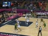 Carlos Delfino six 3pt vs Lithuania