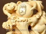 Mammoth Ivory Handcrafted Chinese 12 Zodiac Animal Carving 37499