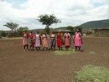 chant Masaï Kenya