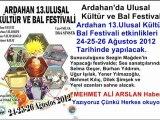 Ardahan bal festivali 2012 Haberi @ MEHMET ALİ ARSLAN Haber / son dakika haberler